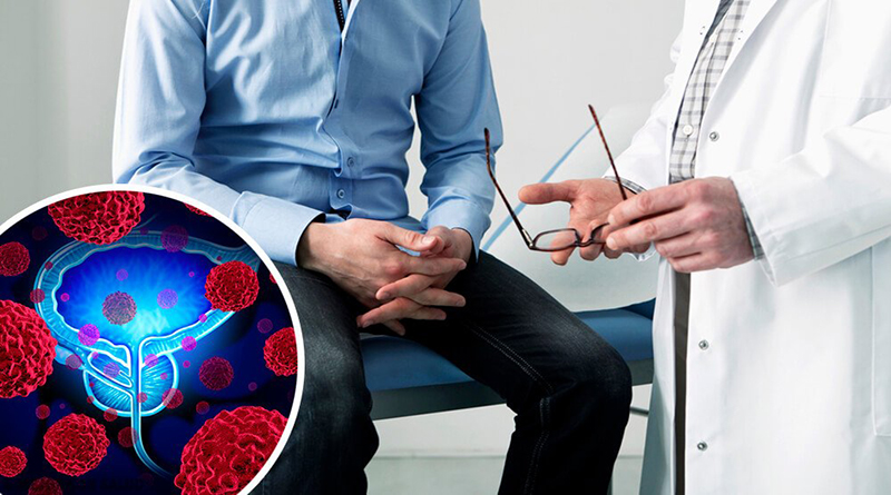 First symptoms of prostate cancer